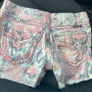 Floral Miss Me shorts